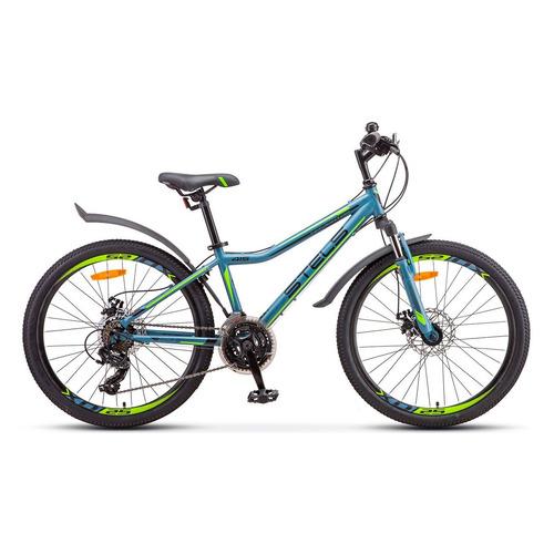 цена на Велосипед Stels Navigator-415 MD горный рам.:13 кол.:24 серый 16.3кг (LU081357)