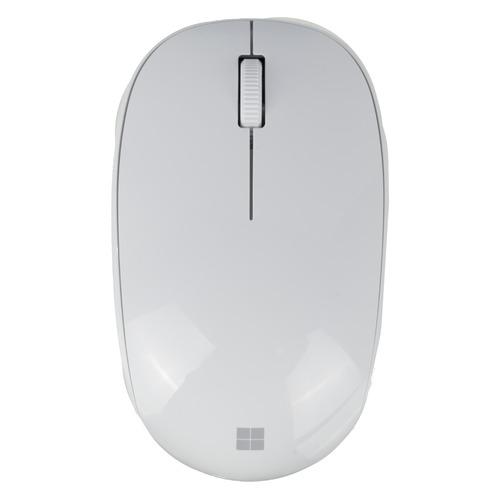 Мышь MICROSOFT Bluetooth, оптическая, беспроводная, серый [rjn-00070] мышь microsoft bluetooth черный оптическая 1000dpi беспроводная bt 2but