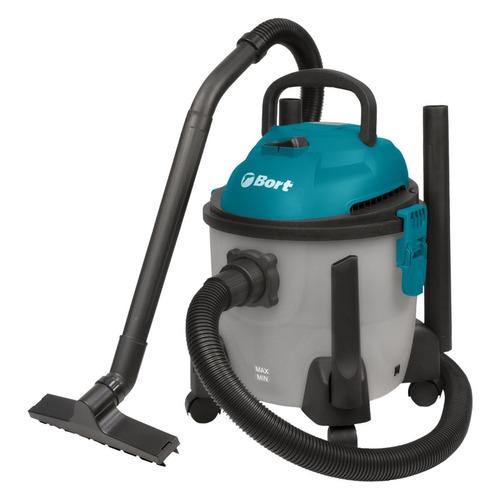 Строительный пылесос BORT BSS-1215-Aqua серый [93410891]