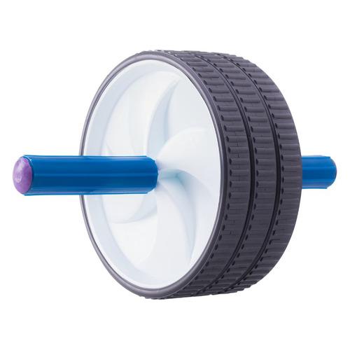Ролик для пресса Starfit dкол.18см ш.кол.:7.3см синий/белый (УТ-00006715) ролик для пресса kettler цвет голубой 29 х 18 см