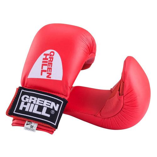 Перчатки для каратэ Green Hill KMС-6083 M красный (УТ-00009397) тренировочные перчатки green hill cobra kmc 6083 для карате синий s