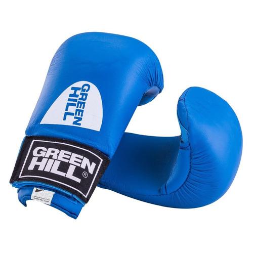 Перчатки для каратэ Green Hill KMС-6083 L синий (УТ-00009398) тренировочные перчатки green hill cobra kmc 6083 для карате синий s