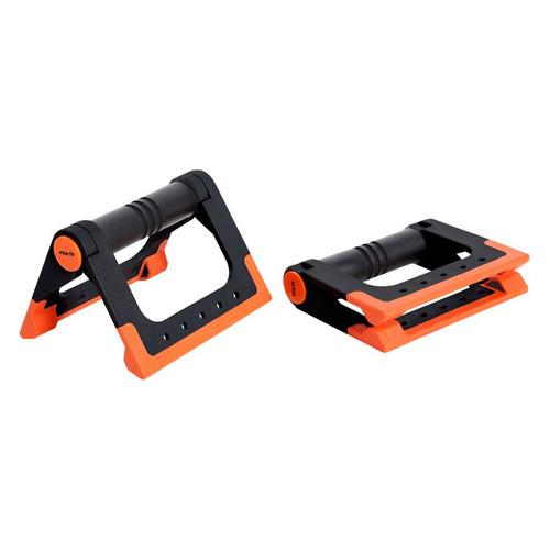 Упоры для отжимания Starfit BA-304 черный/оранжевый (УТ-00016658) упоры для отжимания starfit ba 304 black orange ут 00016658