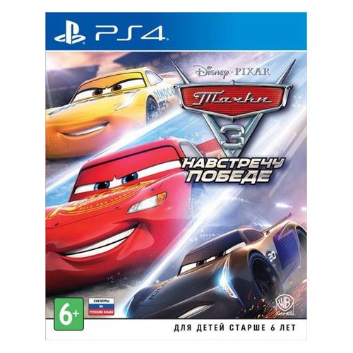 Игра PLAYSTATION Тачки 3. Навстречу победе, RUS (субтитры), для PlayStation 4/5