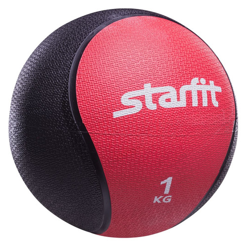 Фото - Медбол Starfit Pro GB-702 ф.:круглый d=18.8см красный/черный (УТ-00007297) медбол starfit pro gb 702 ф круглый d 22 8см синий черный ут 00007303