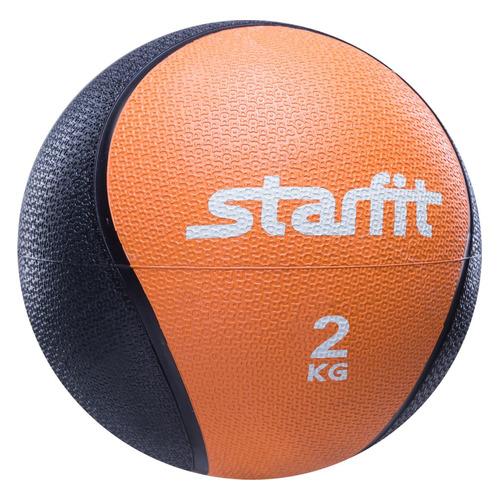 Фото - Медбол Starfit Pro GB-702 ф.:круглый d=18.8см оранжевый/черный (УТ-00007299) медбол starfit pro gb 702 ф круглый d 22 8см синий черный ут 00007303