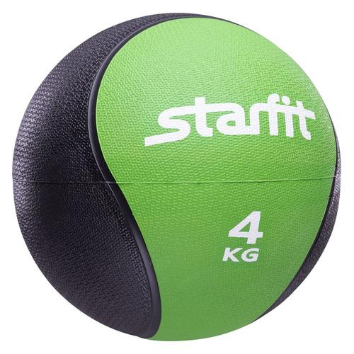 Медбол Starfit Pro GB-702 ф.:круглый d=22.8см зеленый/черный (УТ-00007301)