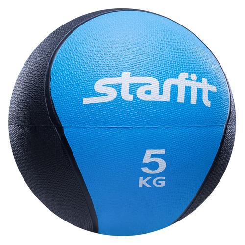 Медбол Starfit Pro GB-702 ф.:круглый d=22.8см синий/черный (УТ-00007303)