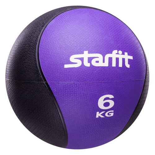 Фото - Медбол Starfit Pro GB-702 ф.:круглый d=28см фиолетовый/черный (УТ-00007304) медбол starfit pro gb 702 ф круглый d 22 8см синий черный ут 00007303