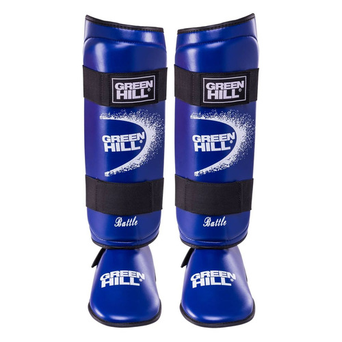 Шингарды GREEN HILL SIB-0014, для взрослых, XL, синий [ут-00000591]