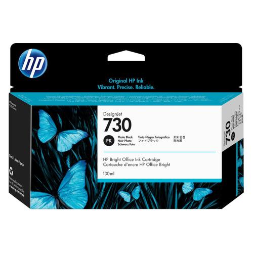 Картридж HP 730, фото черный [p2v67a]