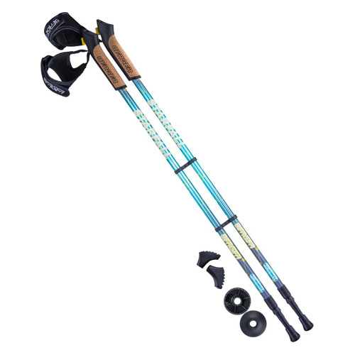 Палки для ходьбы Berger Starfall дл.:135см синий/серый компл.:2шт (УТ-00010971)