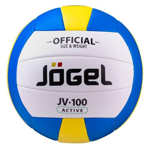 Фото - Мяч волей. Jogel JV-100 для пляжа белый/голубой (УТ-00009279) мяч jogel js 510 kids 3 ут 00012406