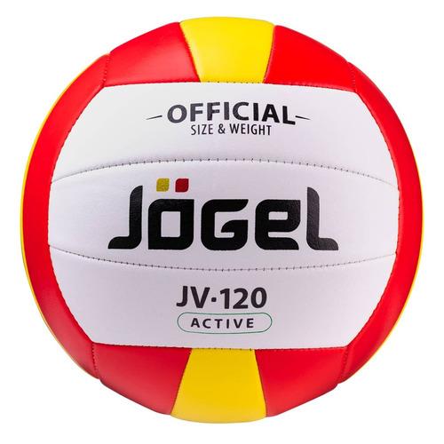 Фото - Мяч волей. Jogel JV-120 для пляжа белый/красный (УТ-00012233) мяч jogel js 510 kids 3 ут 00012406