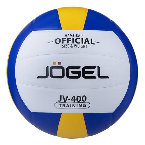 Фото - Мяч волей. Jogel JV-400 для пляжа белый/синий (УТ-00009341) мяч jogel js 510 kids 3 ут 00012406