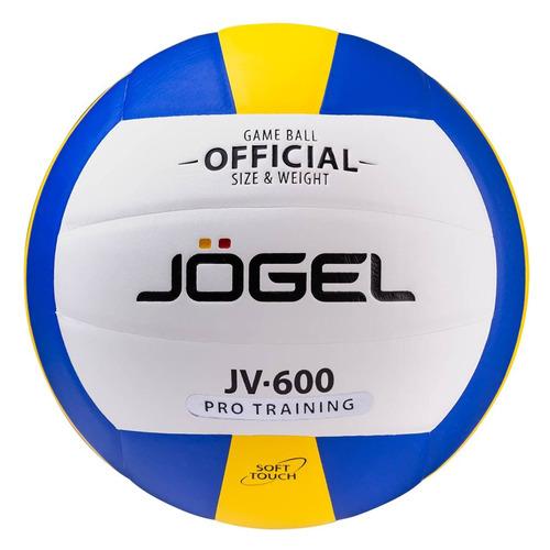 Фото - Мяч волей. Jogel JV-600 для пляжа белый/синий (УТ-00009344) мяч jogel js 510 kids 3 ут 00012406