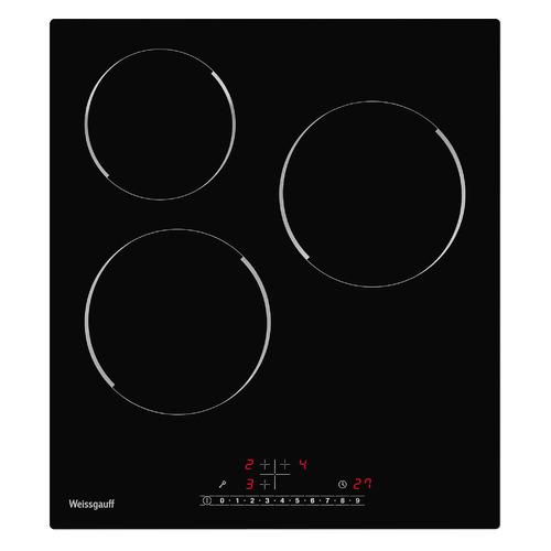 Варочная поверхность Weissgauff HV 430 BS черный кухонный смеситель weissgauff alba granit r черный