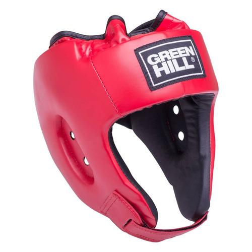 Шлем GREEN HILL HGA-4014, для взрослых, M, красный [ут-00009388]