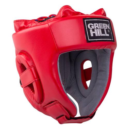 Шлем GREEN HILL HGT-9411, для взрослых, S, красный [ут-00015325]