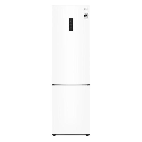 Холодильник LG GA-B509CQTL, двухкамерный, белый двухкамерный холодильник lg ga b 459 sqcl белый