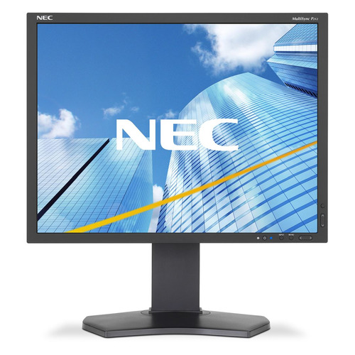 Монитор NEC MultiSync P212-BK 21.3, черный монитор 24 nec multisync ea244wmi bk black ips led 1920x1200 5ms vga dvi hdmi displayport usb
