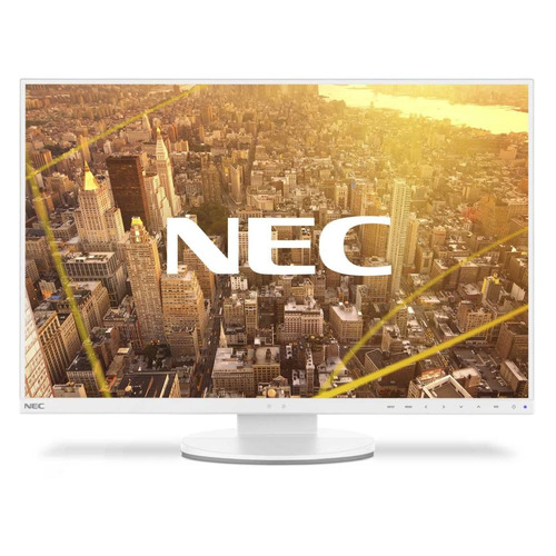 Монитор NEC EA245WMi-2 white 24, белый монитор 23 nec ea234wmi черный ips 1920x1080 250 cd m^2 6 ms dvi hdmi displayport vga аудио usb