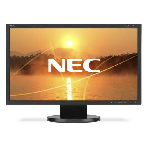 Монитор NEC MultiSync AS222WI-BK 22, черный монитор 23 nec ea234wmi черный ips 1920x1080 250 cd m^2 6 ms dvi hdmi displayport vga аудио usb