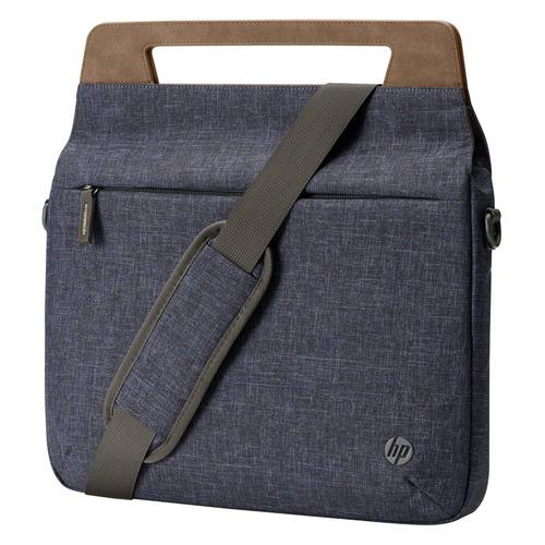 Сумка для ноутбука 14 HP RENEW Brief Case, синий/коричневый [1a215aa] аккумулятор для ноутбука oem hp mini 210 series 11 1v 4400mah pn 582213 121 7f09c4