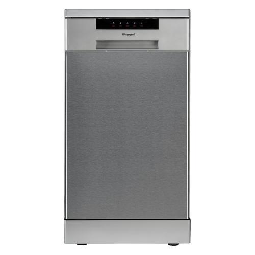 Посудомоечная машина WEISSGAUFF DW 4015, узкая, серебристая [419435]