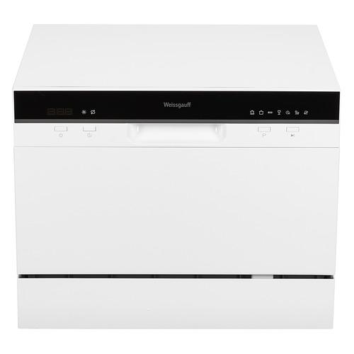 Посудомоечная машина WEISSGAUFF TDW 4017, компактная, белая [426066] посудомоечная машина hyundai dt205 компактная белая