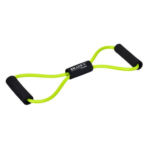 Эспандер Bradex Восьмерка для разных групп мышц зеленый/черный (SF 0237)
