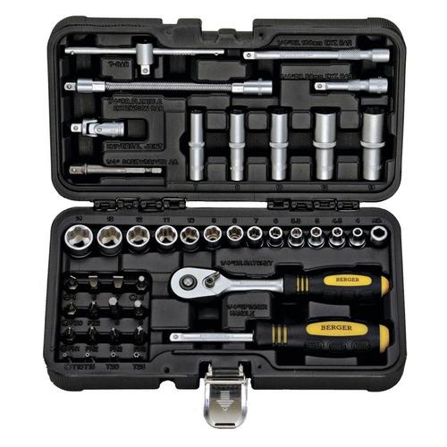 цена на Набор инструментов BERGER BG043-14, 43 предмета