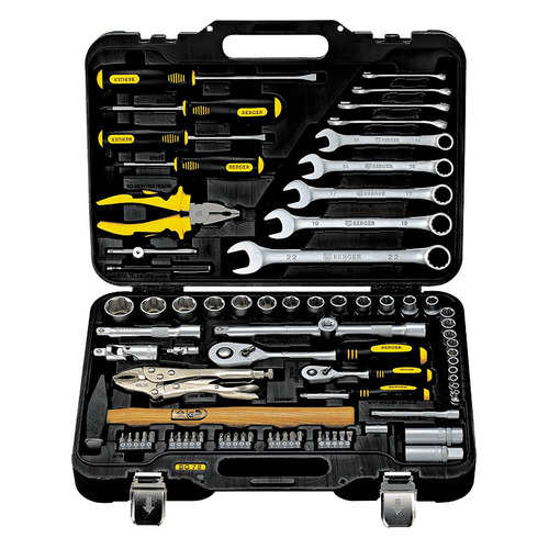 цена на Набор инструментов BERGER BG078-1214, 78 предметов