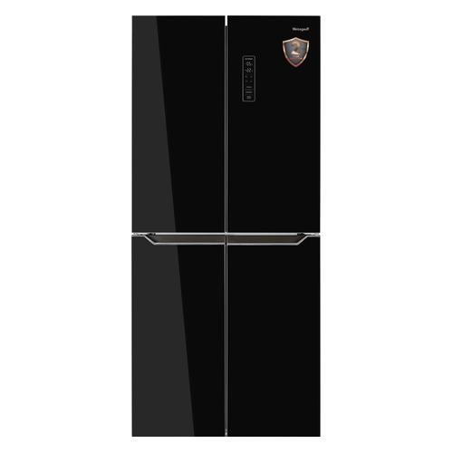 Холодильник Weissgauff WCD 486 NFB черный кухонный смеситель weissgauff alba granit r черный