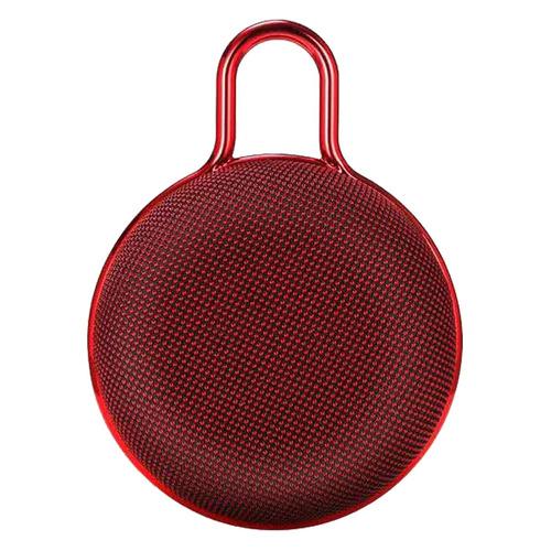 Портативная колонка TELEFUNKEN TF-PS1234B, 5Вт, красный [tf-ps1234b(красный)] аудио колонка bluetooth sruppor tf bluetooth speaker