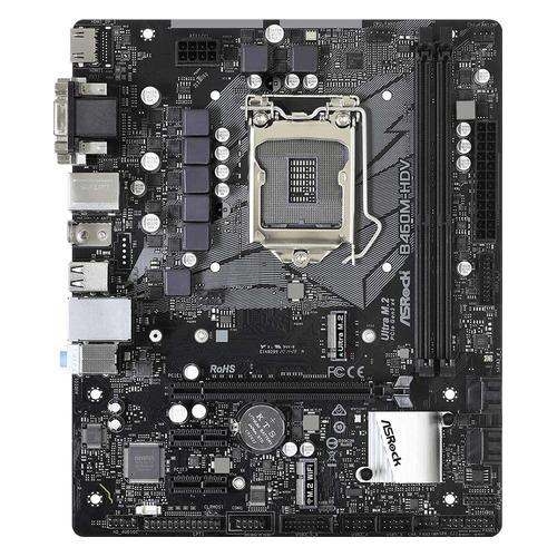 Материнская плата ASROCK B460M-HDV, LGA 1200, Intel B460, mATX, Ret цена 2017
