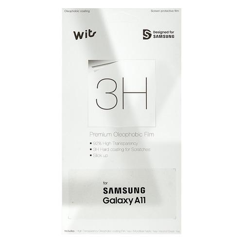 Защитная пленка для экрана SAMSUNG Wits для Samsung Galaxy A11, прозрачная, 1 шт [gp-tfa115wsatr] пленка