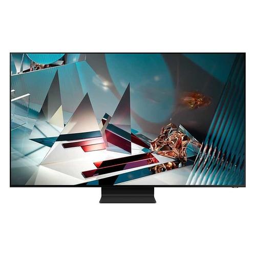 Фото - QLED телевизор SAMSUNG QE82Q800TAUXRU, 82, Ultra HD 8K телевизор qled samsung qe82q800tau 82 2020 черный титан