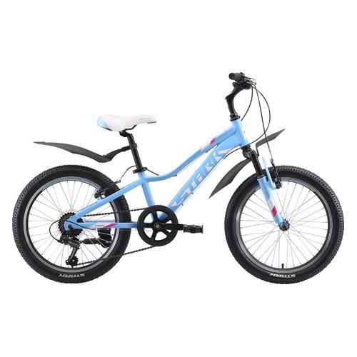 цена на Велосипед Stark Bliss V (2020) горный кол.:20 голубой/розовый 13кг (H000016488)