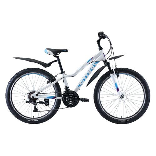 цена на Велосипед Stark Bliss V (2020) горный кол.:24 белый/бирюзовый 14.4кг (H000016487)