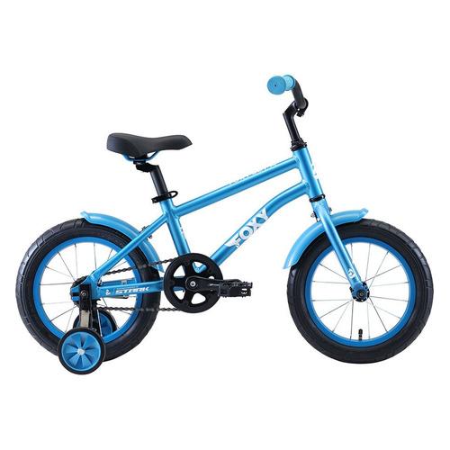 Велосипед Stark Foxy Boy (2020) горный кол.:14 голубой/белый 9.5кг (H000016494)