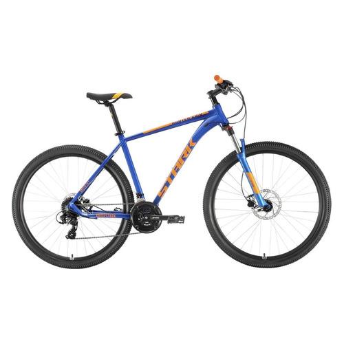 цена на Велосипед Stark Router HD (2020) горный рам.:20 кол.:29 синий/оранжевый 15.9кг (H000016260)