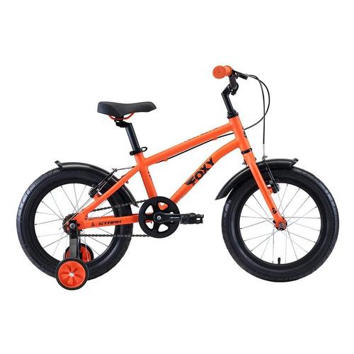 Фото - Велосипед Stark Foxy Boy (2020) городской кол.:16 оранжевый/голубой 10кг (H000016492) велосипед bulls tokee street 24 boy 2016