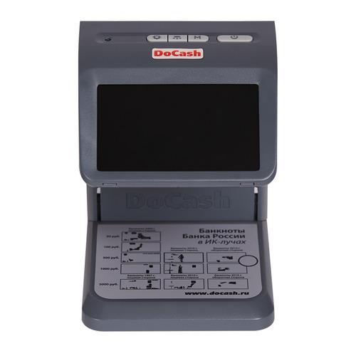 цена на Детектор банкнот DoCash mini IR просмотровый мультивалюта
