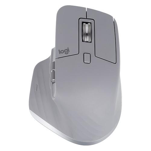 Фото - Мышь LOGITECH MX Master 3, оптическая, беспроводная, USB, серый [910-005695] мышь logitech mx master 3 черный