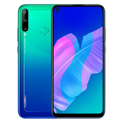 Фото - Смартфон HUAWEI P40 lite E NFC 64Gb, голубая аврора смартфон huawei p40 lite e 4 64gb aurora blue ярко голубой