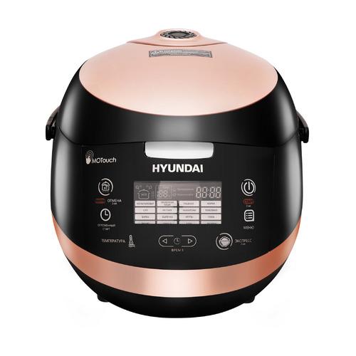 Мультиварка HYUNDAI HYMC-1611, 850Вт, коричневый/черный