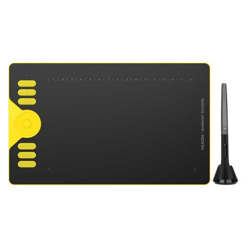 Графический планшет HUION HS610 А4 желтый графический планшет huion inspiroy hs610 черный