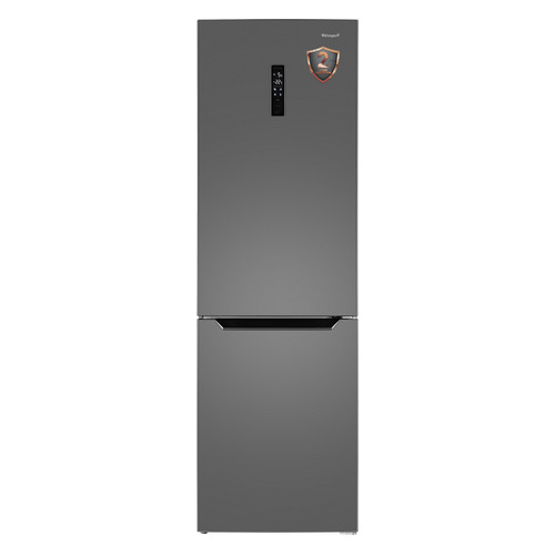 Холодильник WEISSGAUFF WRK 2000 XNF, двухкамерный, нержавеющая сталь
