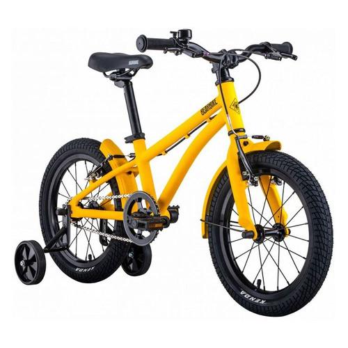 Велосипед Bearbike Kitez горный кол.:16 желтый 7.8кг (RBKB0Y6G1003) bicycle bearbike barcelona 700c 1 ic height 580mm 2018 2019